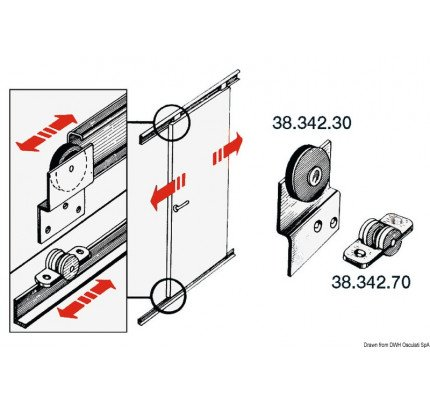 Osculati-PCG_2649-Stainless steel rail and carriage slide for sliding doors-20