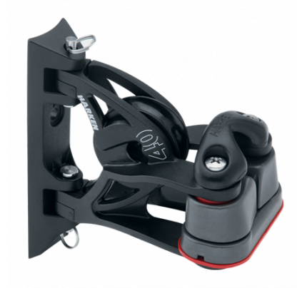 Harken-HK2156-40 mm Pivoting Lead Block Cam-Matic® cleat Bozzello di rinvio orientabile/Cam-Matic 150* **-20