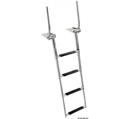 Osculati-49.575.04-4-step telescopic ladder with handles-20