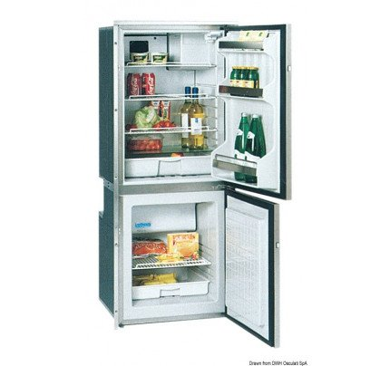 Isotherm-PCG_38255-ISOTHERM refrigerator with stainless steel front panel double compartment-20