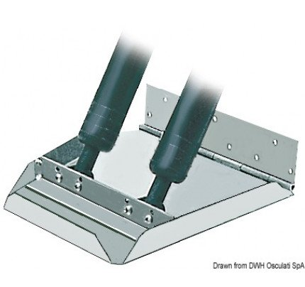 Osculati-PCG_3666-Pair of HS series trim tabs suitable for hulls over 40-knot speed-20