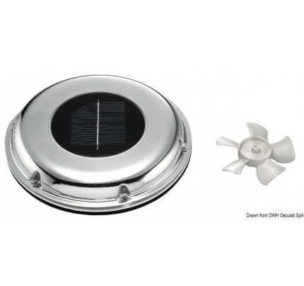 Solarvent automatic solar vent