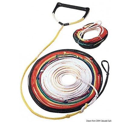 Osculati-64.428.02-Coloured 8-section tow rope-20