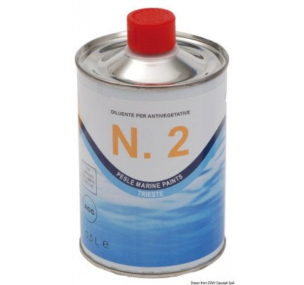 Marlin Yacht Paints-65.122.00-MARLIN thinner for antifouling 0.5 l-20