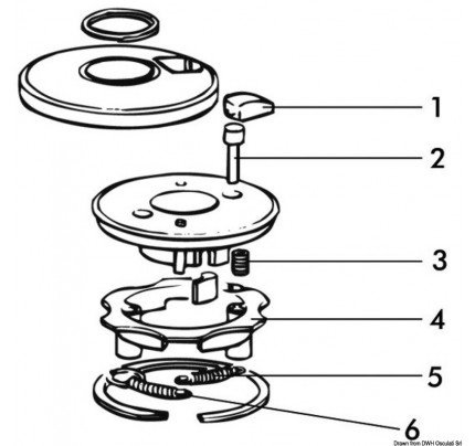 Lewmar-PCG_4500-LEWMAR spare parts for 3-speed winches-20