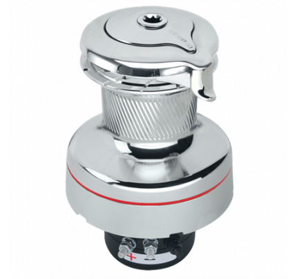 Harken-HK900UPWCCC24-900 Electric UniPower Self-Tailing Radial All-Chrome Winch 24V-20