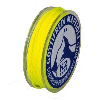 Gottifredi Maffioli-TDYF24X-FLUO.GI1.2-Mini rocchetta da 20m in DYNEEMA Ø1.2mm giallo fluo-20