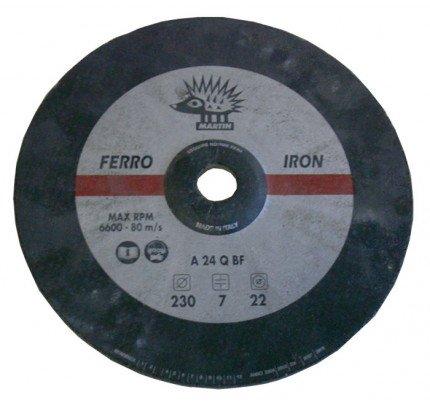 Oltrevela.com-OV-DISMOLA-Disco Martin per mola in ferro Ø 230mm Ø interno 22mm-20