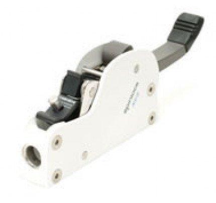 Spinlock-XCS0812/1LW-Singolo con blocco camma per drizza spi bianco max 12mm-20