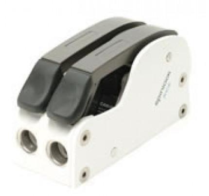 Spinlock-XCS1216/2W-Doppio verticale bianco Ø12-16mm-20