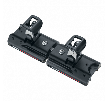 Harken-HKT2704B.HL-27 mm High-Load Double Cars Stand-Up Toggles 2 Carrelli/2 supporti verticali-20