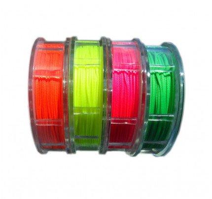 Gottifredi Maffioli-GM-FILO-FLUO-Filo cerato in poliestere Ø1mm da 40m per impalmature colori fluo-21