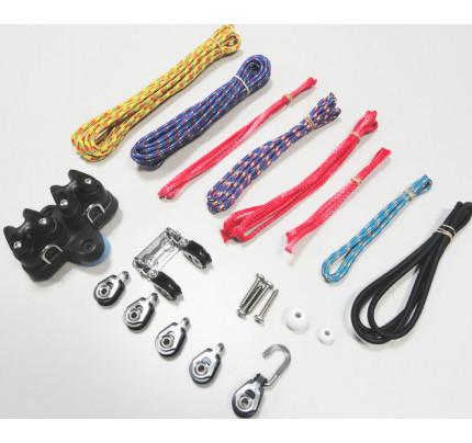 Allen-A8332-Kit base randa/cunningham Laser® con cime, bozzelli e strozzatori-21