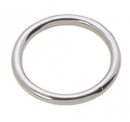 Viadana-55.07-Anello chiuso, diametro interno 33mm, filo 5mm, in acciaio inox-20