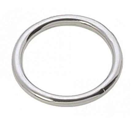Viadana-55.08-Anello chiuso, diametro interno 40mm, filo 5mm, in acciaio inox-20