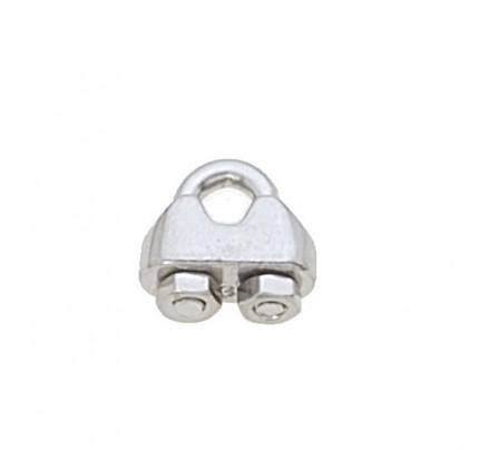 Viadana-60.04-Morsetto inox per cavo Ø3-4mm-20
