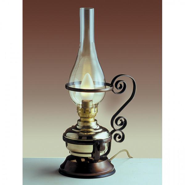 Foresti e Suardi-FS2208.LT-Lampada da tavolo in ottone giallo Lucido E14 T Trasparente-30