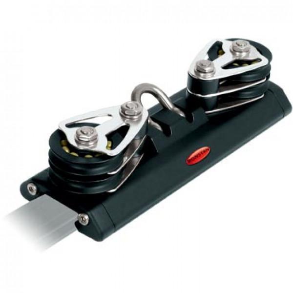 Ronstan-RC13013-Serie 30 Carrello 220mm, Shackle, 4 Control pulegge-30