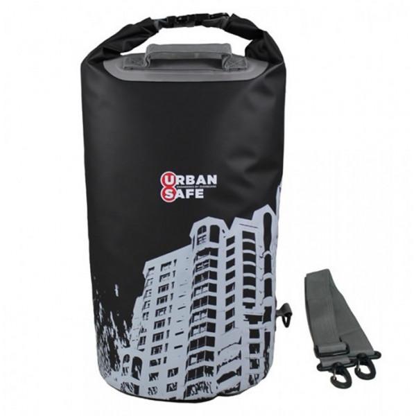 OverBoard-US1005BLK-CITYSCAPE-Sacca stagna Urban Safe 20 lt nera modello City-31