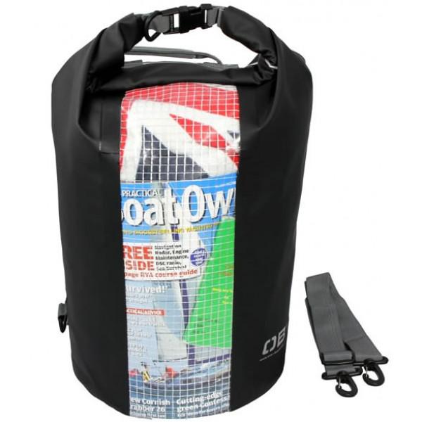 OverBoard-OB1058BLK-Sacca stagna Dry Tube 30lt colore nero con finestra-31