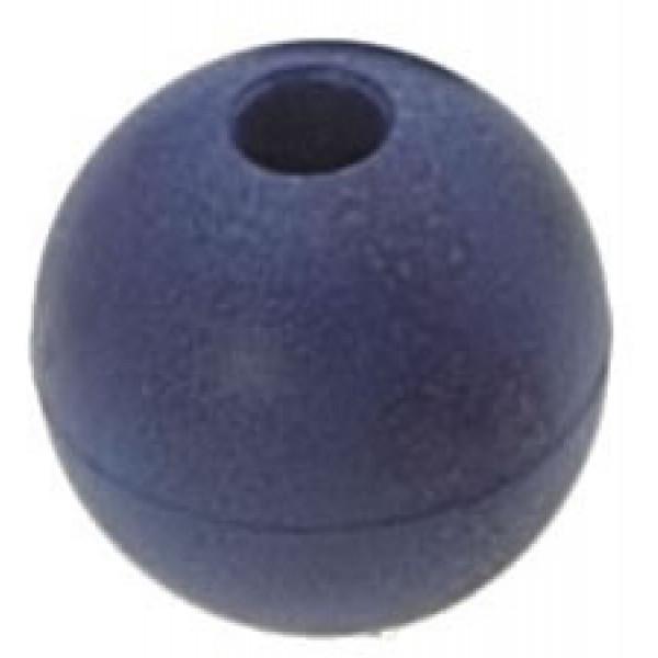 Viadana-53.63-Pallina fermascotte Ø28mm scotta Ø6mm colore blu-31