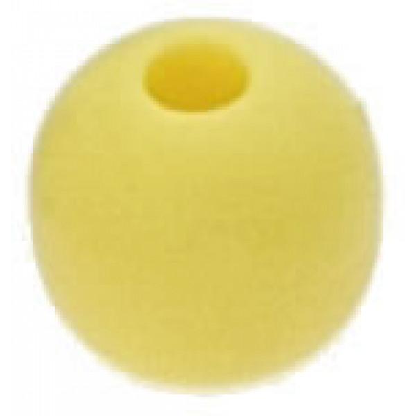 Viadana-53.82-Pallina fermascotte Ø33mm scotta Ø8mm colore giallo-31
