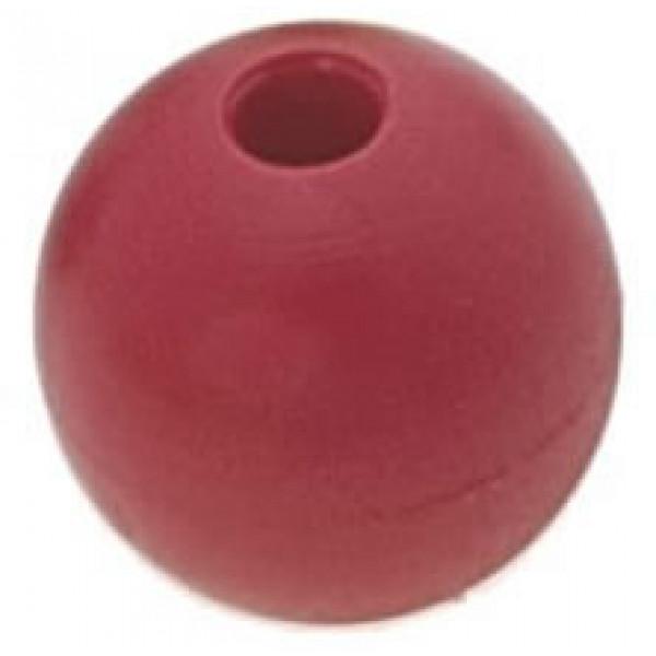 Viadana-53.61-Pallina fermascotte Ø28mm scotta Ø6mm colore rosso-31