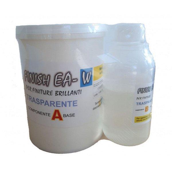 Prochima-PCG_PH-FA868-Smalto trasparente allacqua Finish EA bicomponente 500g-1Kg-32