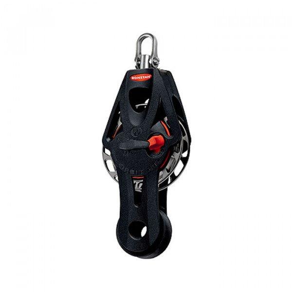 Ronstan-RF56510-Series 55 Ratchet Orbit Block™, bozzello singolo a violino, con testa girevole e arricavo-31