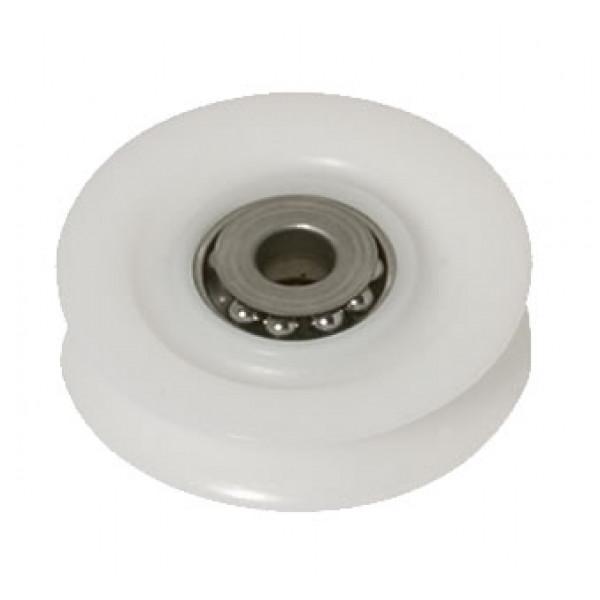 Viadana-21.19-Puleggia delrin-inox Ø57mm, D2:8.8mm, D3:12mm, S:18.3mm-30