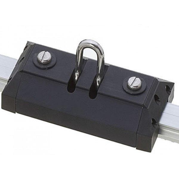 Viadana-24.81-Carrello lungo con grillo forgiato basculante per rotaia 31mm-30