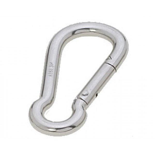 Viadana-29.06-Moschettone semplice, diametro 10mm, lunghezza 100mm, in acciaio inox-30